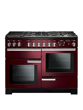 Rangemaster Pdl110Dffcy Professional Deluxe 110Cm Wide Dual Fuel Range Cooker - Cranberry