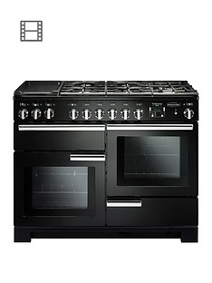 rangemaster-pdl110dffgb-professional-deluxe-110cmnbspwide-dual-fuel-range-cooker-black