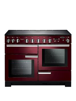 rangemaster-pdl110eicy-professional-deluxe-110cmnbspwide-electric-range-cooker-with-induction-hob-cranberry