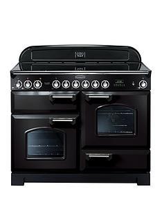 rangemaster-cdl110ecblnbspclassic-deluxenbsp110cmnbspwide-electric-range-cooker-with-ceramic-hob-black