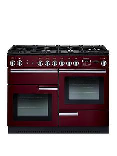 Rangemaster  PROP110DFFCY Professional Plus 110cm Wide Dual Fuel Range Cooker - Cranberry