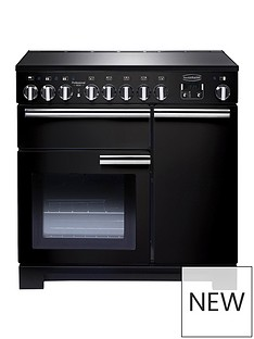 rangemaster-pdl90eigb-professional-deluxe-90cmnbspwidenbspelectric-range-cooker-with-induction-hob-black