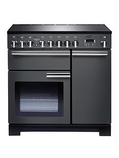 rangemaster-pdl90eisl-professional-deluxe-90cmnbspwide-electric-range-cooker-with-induction-hob-slate