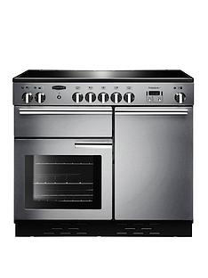 rangemaster-prop100ecss-professional-plusnbsp100cmnbspwide-electric-range-cooker-with-ceramic-hob-stainless-steel