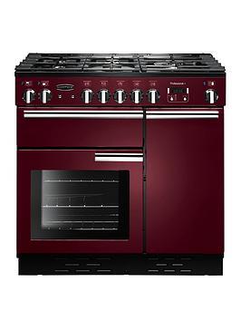Rangemaster Prop90Dffcy Professional 90Cm Wide Dual Fuel Range Cooker