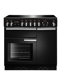 Rangemaster PROP90ECGB Professional 90cmWide Electric Range Cooker - Black