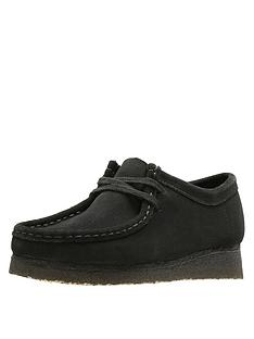 clarks-originals-wallabee-flat-shoes-black