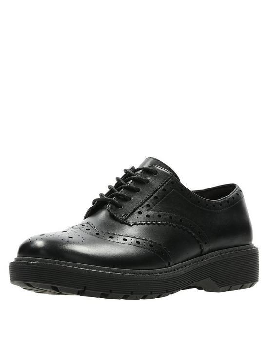 35ea892d78f9 Clarks Alexa Darcy Flat Shoes - Black