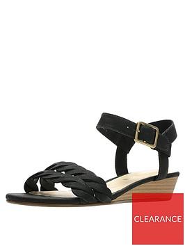 clarks-mena-blossom-wedge-sandal-black
