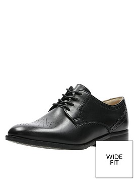 clarks-netley-rose-wide-fit-brogues-black