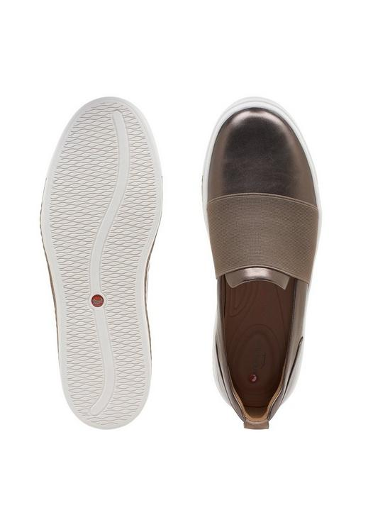 e2e072e5222a ... Clarks Unstructured Un Maui Step Plimsolls - Pebble. 2 people have  looked at this in the last couple of hrs.