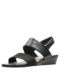 clarks-sense-lily-wedge-sandals-black