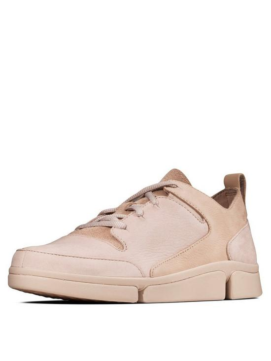 74dd36a11dc1ab Clarks Tri Turn Combi Trainers - Nude