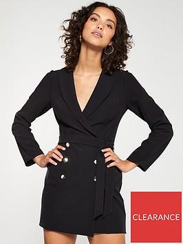 v-by-very-button-soft-tux-dress-black