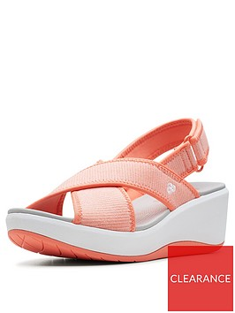 clarks-cloudsteppers-step-cali-cove-wedge-sandals-coral