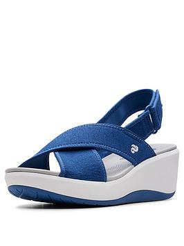 clarks-cloudsteppers-step-cali-cove-wedge-sandals-blue