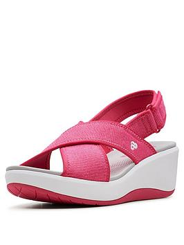 clarks-cloudsteppers-step-cali-cove-wedge-sandals-pink