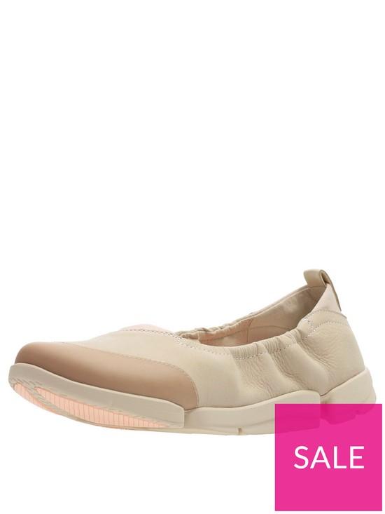 46c8f4a6c7 Clarks Tri Adapt Ballerina Shoes - Blush | very.co.uk