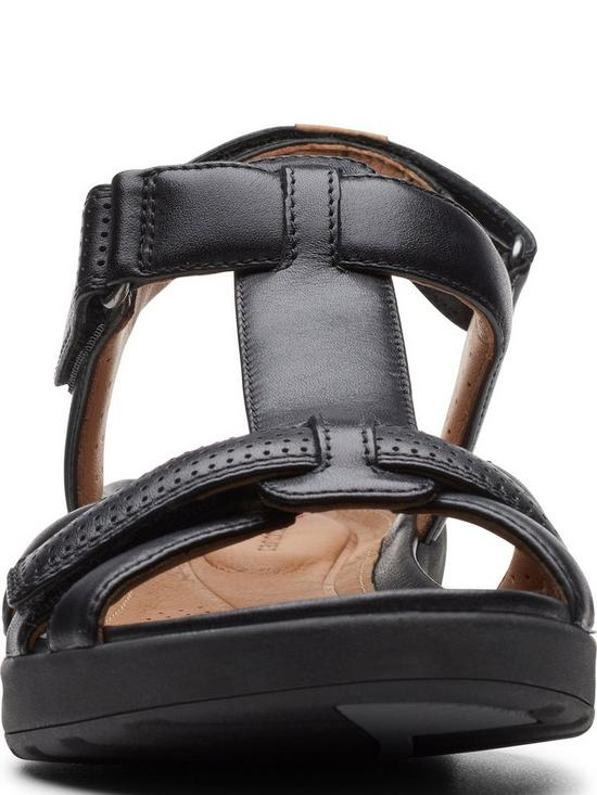 4c34ab73eb93 ... Clarks Unstructured Un Adorn Vibe Flat Sandals - Black. 4 people have  looked at this in the last couple of hrs.