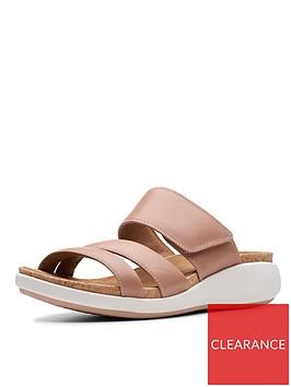 clarks-unstructured-un-bali-way-flat-sandals-rose
