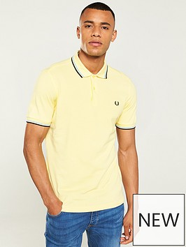 89e36e22bc6 Fred Perry Twin Tipped Polo Shirt - Multi