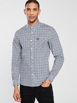 fred-perry-four-colour-gingam-long-sleeved-shirt-royal