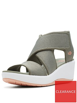 clarks-cloudsteppers-step-cali-palm-wedge-sandals-olive