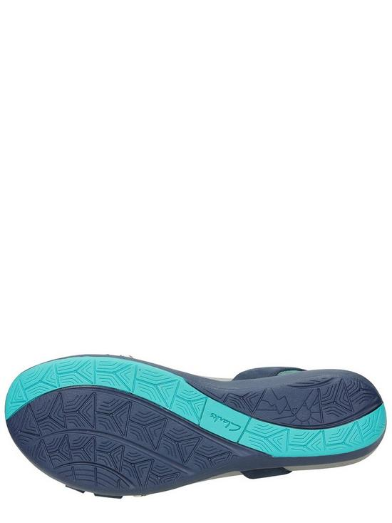 93d5808ce91 ... Clarks Tealite Grace Flat Sandal Shoes - Navy. 4 people have looked at  this in the last couple of hrs.