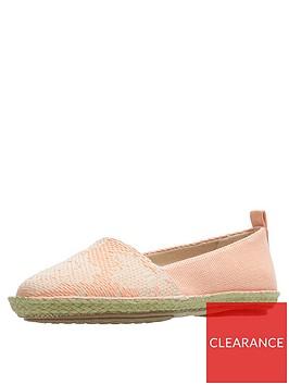 clarks-clovelly-sun-ballerinas-light-coral