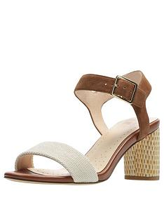 clarks-amali-weave-heeled-sandals-tan