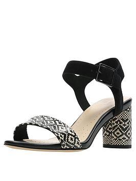 clarks-amali-weave-heeled-sandals-black