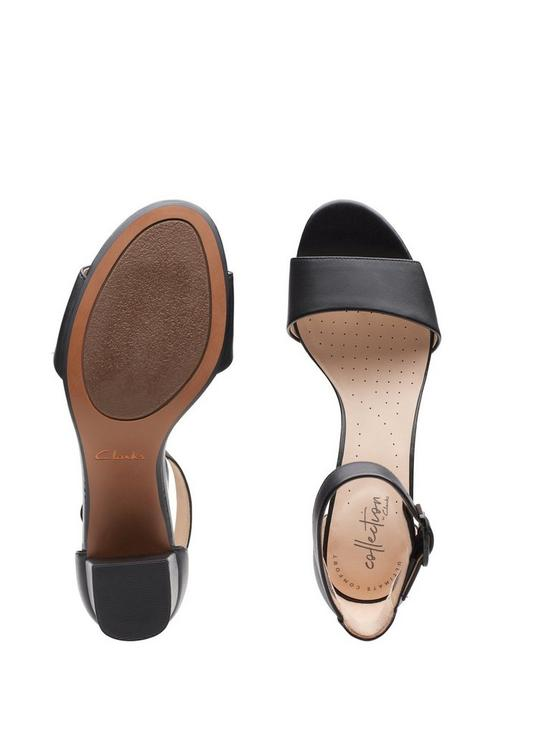 7db7b7f2d1e8 ... Clarks Deva Mae Heeled Sandals - Black. 4 people have looked at this in  the last couple of hrs.