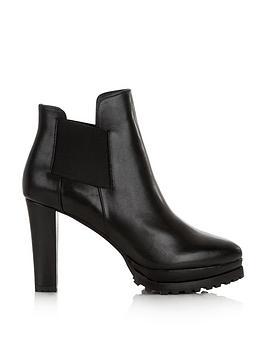 Allsaints Sarris High Heel Ankle Boots - Black