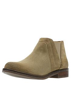 superior quality bf732 6510f Clarks Demi Beat Ankle Boot - Sand