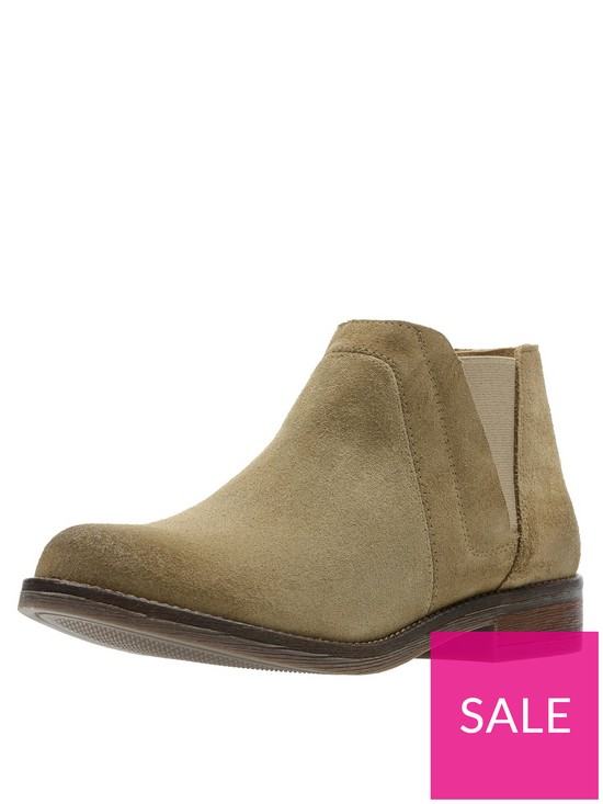2618889ee Clarks Demi Beat Ankle Boot - Sand | very.co.uk