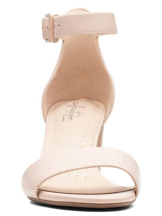 a22f7ef797f ... Clarks Deva Mae Heeled Sandal Shoes - Nude Pink. 3 people are looking  at this right now.