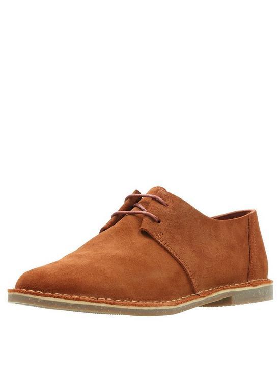 a29ac0b02e28 Clarks Erin Weave Flat Shoes - Tan