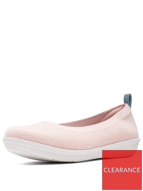 f066f503 Cloudsteppers™ Ayla Paige Plimsoll Shoes - Light Pink