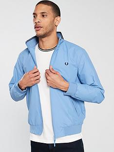 fred-perry-brentham-jacket-sky-blue