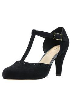 9a1ff31c164 Clarks Dalia Leah Heeled Shoes - Black