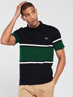 fred-perry-bold-fine-stripe-pique-polo-shirt-navy