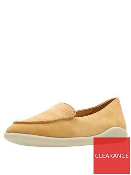clarks-dana-rose-flat-loafer-shoes-light-tan