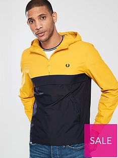 fred-perry-half-zip-panelled-jacket