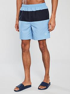 fred-perry-colourblock-swimshort