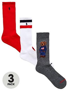 polo-ralph-lauren-3pk-bear-sport-sock