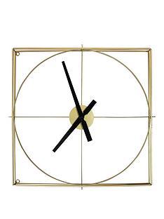 arthouse-gold-framed-wall-clock