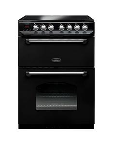 Rangemaster  CLAS60ECBL Classic 60cm Electric Cooker with Ceramic Hob - Black