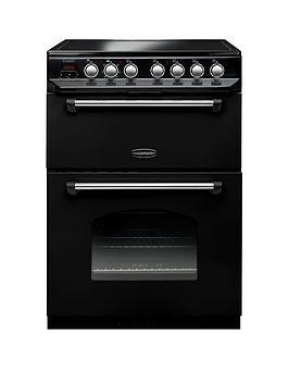Rangemaster Classic 60 CLAS60ECBL/C Free Standing Cooker in Black / Chrome