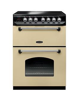 Rangemaster Classic 60 CLAS60ECCR/C Free Standing Cooker in Cream / Chrome