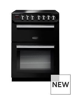 Rangemaster PROP60ECBL Professional 60cmWide Electric Cooker - Black